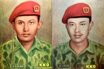 Usman dan Harun Prajurit Marinir Korps Komando