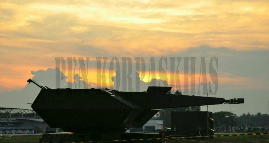 Oerlikon Skyshield Paskhas TNI Angkatan udara