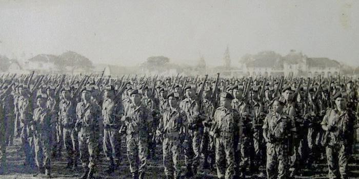 Operasi Trikora oleh Pasukan Kostrad