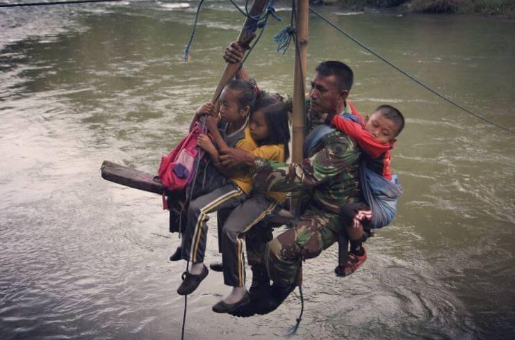 Sifat Prajurit TNI : Rela Berkorban