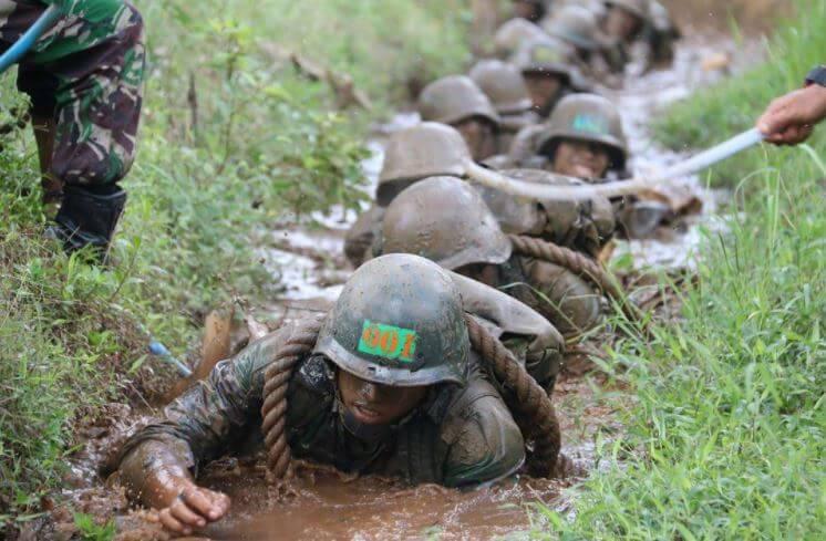 Sifat Prajurit TNI : Pantang Menyerah
