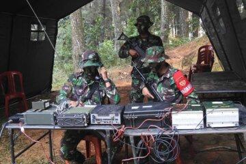 Gambar Korps Perhubungan HUBAD TNI Angkatan Darat