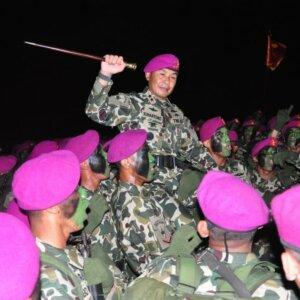 Alasan Mengapa Baret Ungu Menjadi Warna Baret pada Korps Marinir TNI AL