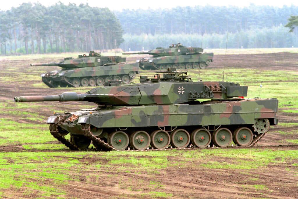 Tank Leopard 2RI Kebanggaan TNI AD