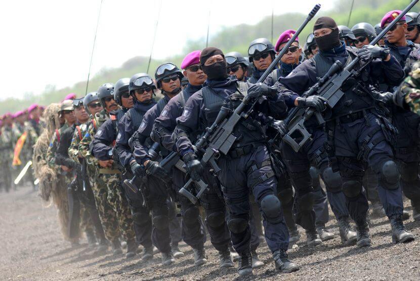 Barisan pasukan Elit Denjaka