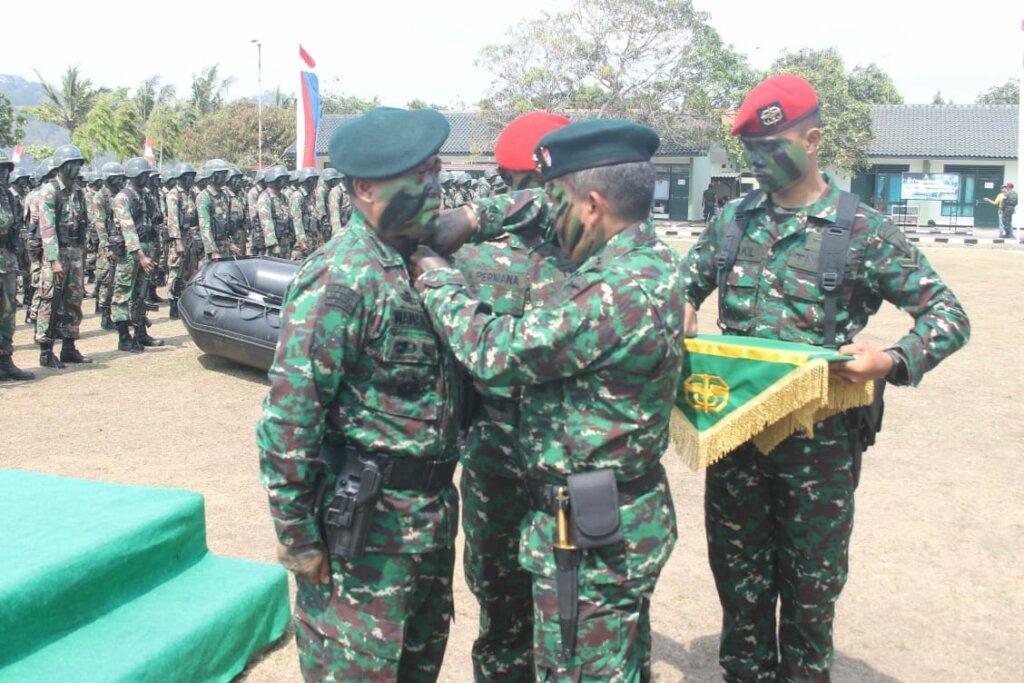 Peresmian Yonif 114 Menjadi Batalyon Raider Khusus