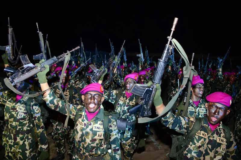 Makna Masing-masing Warna Baret Korps Marinir Indonesia