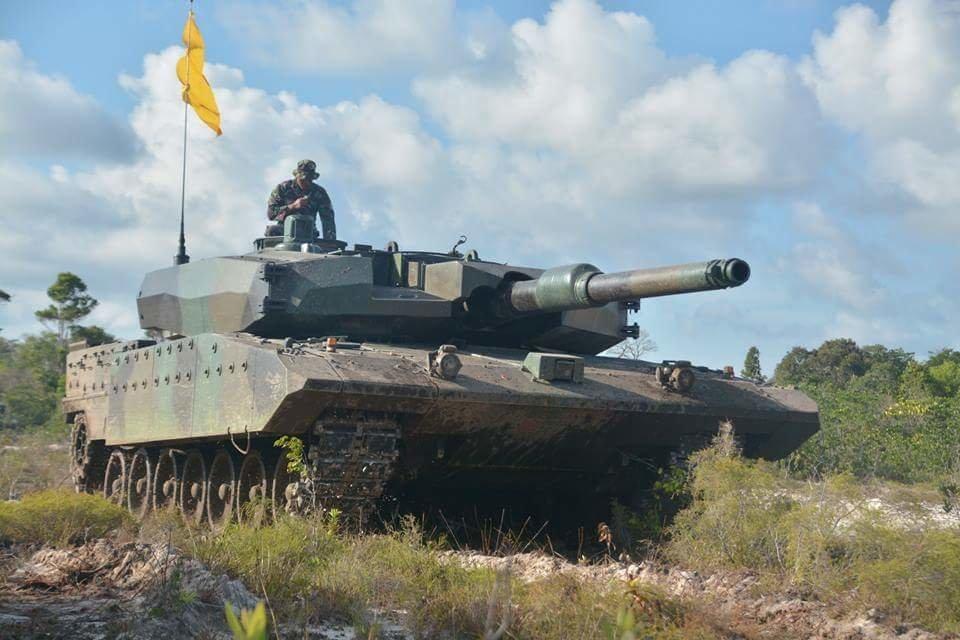 Leopard 2RI Menjadi Mesin Perang dan Disebut Sebagai Hewan Predator