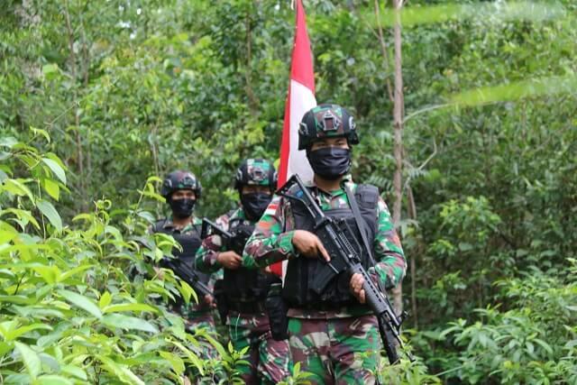 Kemampuan Yonif Mekanis Raider 411 Kostrad dalam Menjaga Batas Negara