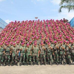 Kekuatan Yonif 8 Marinir