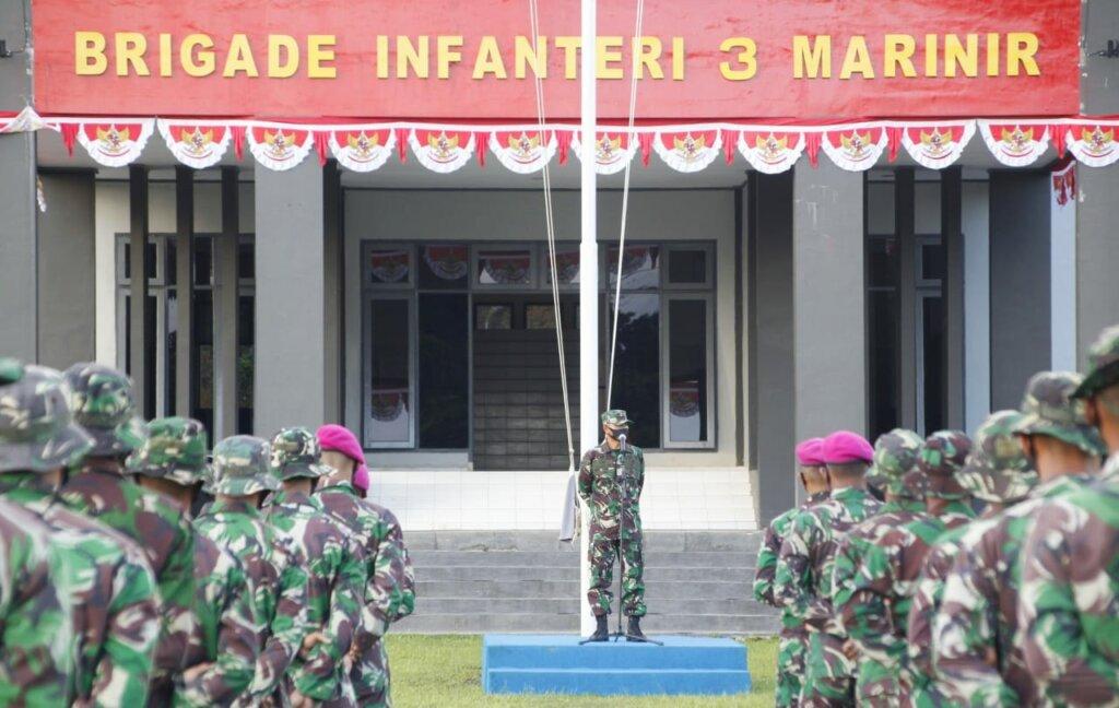 Kekuatan Terpusat TNI di Sorong, Papua Barat