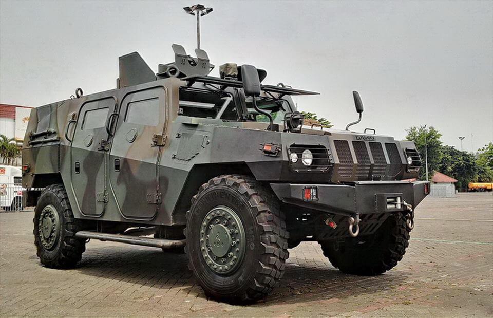 Seputar Kendaraan Militer Rantis Komodo 4x4